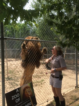 Emerald Coast Wildlife Refuge Zoological Park: He likes to show his teeth, if there is a treat involved.