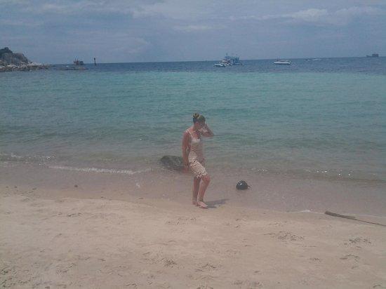 Blue diamond Resort: Пляж
