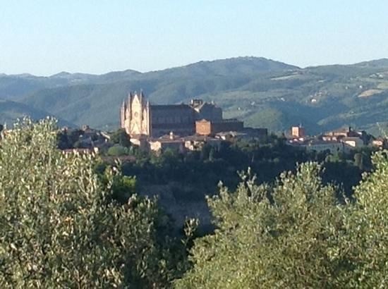 Pietra Campana: the vue from our garden