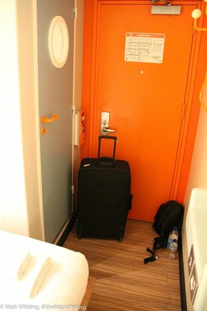easyHotel London Heathrow: From the bed to the door