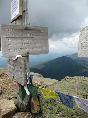 White Mountains National Forest : Mt Lafayette