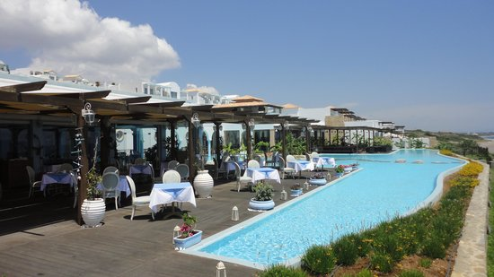 Atrium Prestige Thalasso Spa Resort and Villas: Taverne und Asia-Restaurant