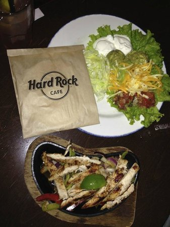 Hard Rock Cafe : еда