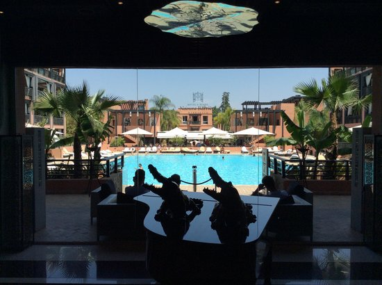 Hotel & Ryads Barriere Le Naoura Marrakech: From the reception area