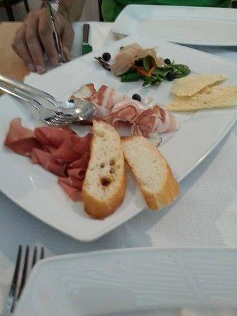 BEST WESTERN PREMIER BHR Treviso Hotel: antipasto