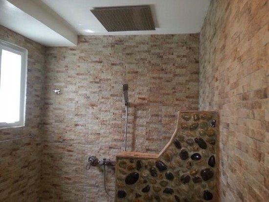 Green Monkey Resort: Bathroom