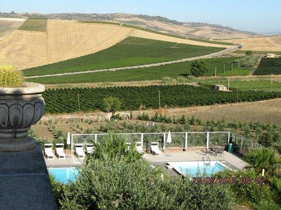 Don Giovanni Hotel: panorama dall'hotel sulla vallata