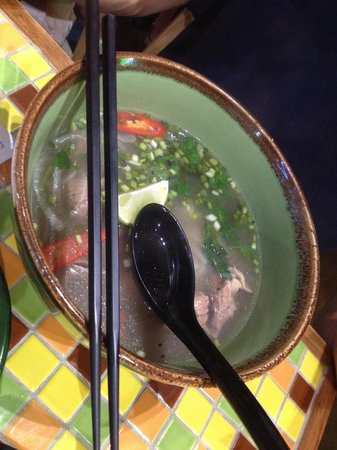 Nam Nam Noodle Bar: Pho with beef meat