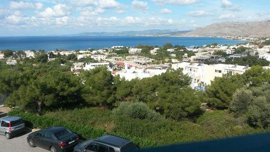 Pefkos Beach Hotel: View