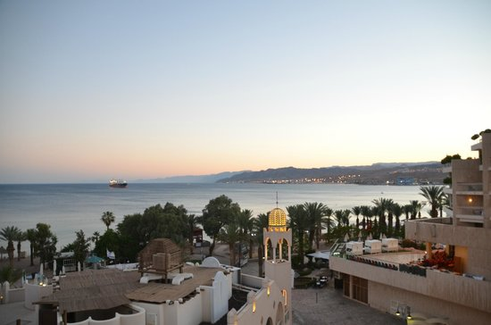 Herods Vitalis Spa Hotel Eilat : The view from our room
