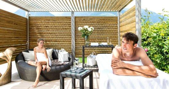 Hotel Hohenwart: Dachterrasse Vistaspa