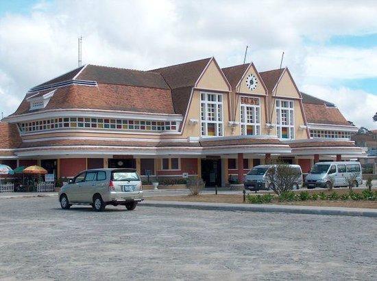 Dalat Railway Station : the station