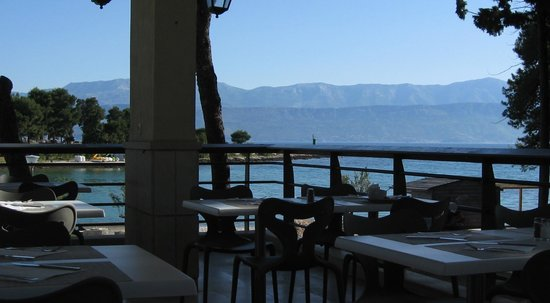 SENTIDO Kaktus Resort: view from Adria Restaurant