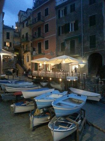 Allo Scalo dei Mille: restrant next to the hotel