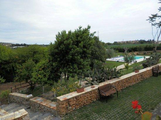 Al Palmento Cruillas - giardino con piscina