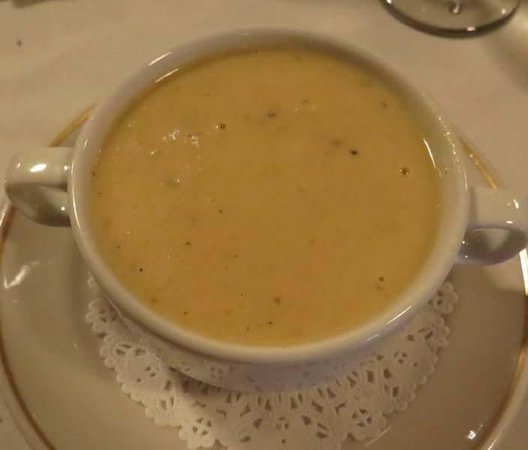 The Copper Door: New England Chowder soup
