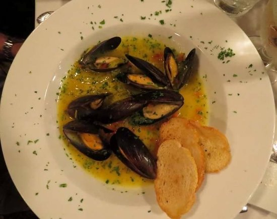 The Copper Door: Mussels