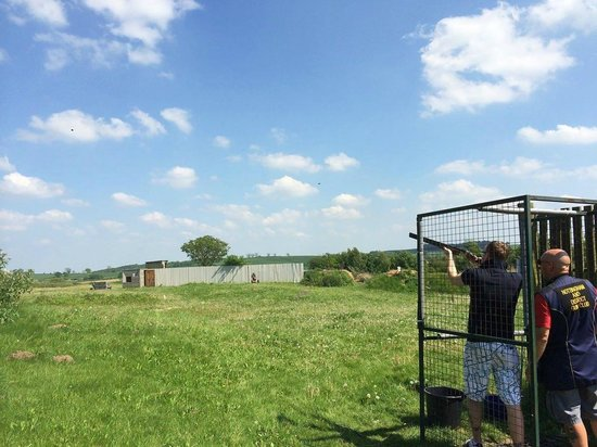 Haywood Oaks Activity Centre: Shooting some Clay Pigeons