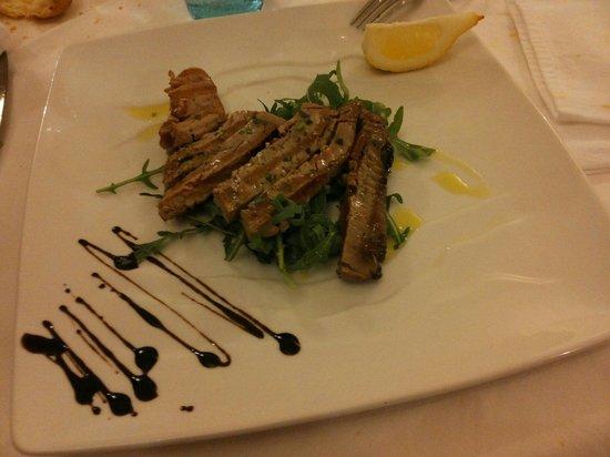 Trattoria Camozzi da Claudio : Tagliata di tonno