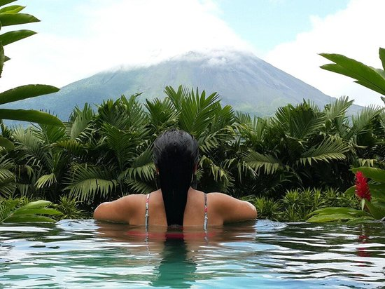 The Springs Resort and Spa: Contemplando la majestuosidad del Arenal