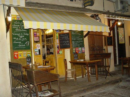 Cantina Doria: Façade entrée du restaurant
