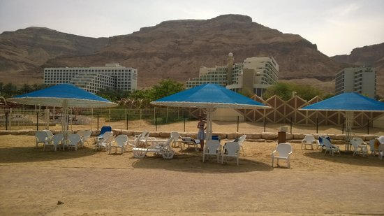 Spa Club Hotel: Plage privée