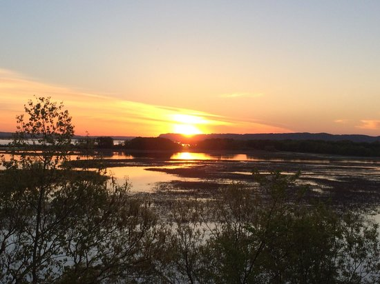 Perrot State Park: Sunset Memorial Day weekend 2014
