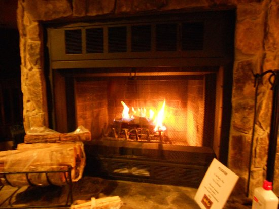 Fairway Forest: Fireplace