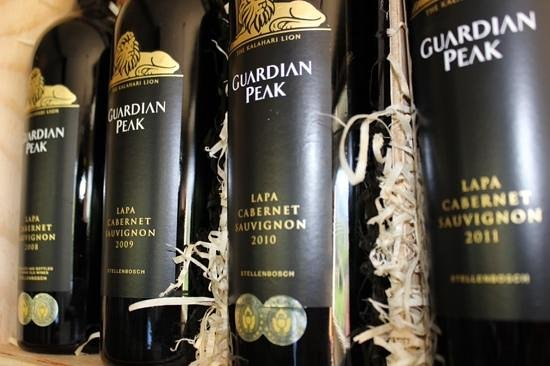 Guardian Peak: wine!