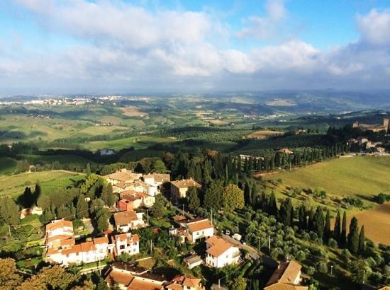 Hotel Villa La Cappella: no other way to see Tuscany