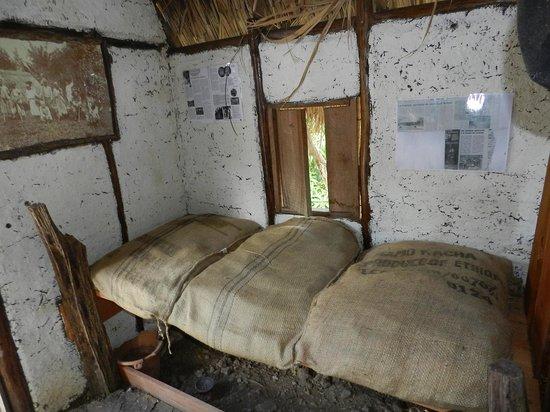 La Savane des Esclaves: Intérieur de case