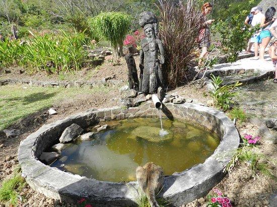 La Savane des Esclaves: Fontaine