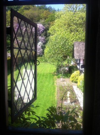 Bickleigh Castle: from inside the castle to rear garden