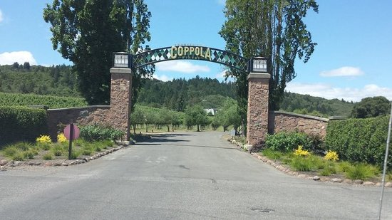 Francis Ford Coppola Winery: Entrance