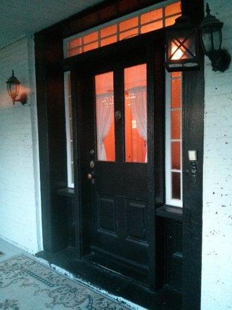 Colborne Guest House: front door