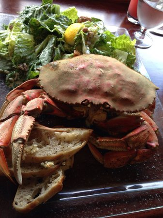 Offshore Seafood Restaurant : A tasty fresh crab caught that day by the owner!