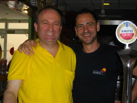 Mayra Apartments : raymond(bar owner) and alejandro(apartments owner)