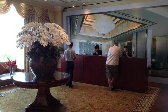 Caravelle Saigon : Temporary reception on 3rd floor