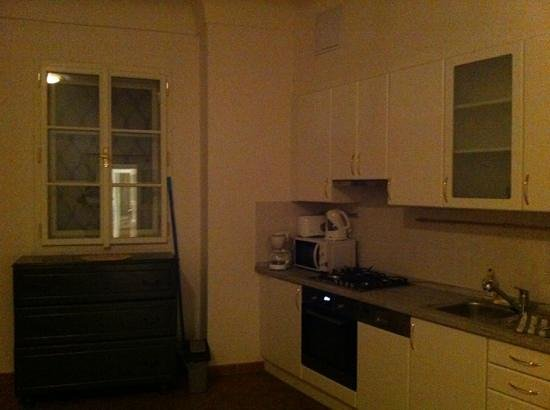 Charles Bridge Apartments: kitchen