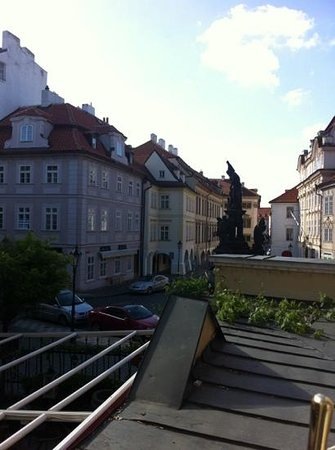 Charles Bridge Apartments: view