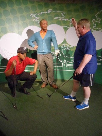 Madame Tussauds -  Las Vegas : Tiger Woods