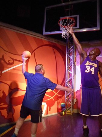 Madame Tussauds -  Las Vegas : Basketball with  Shaq