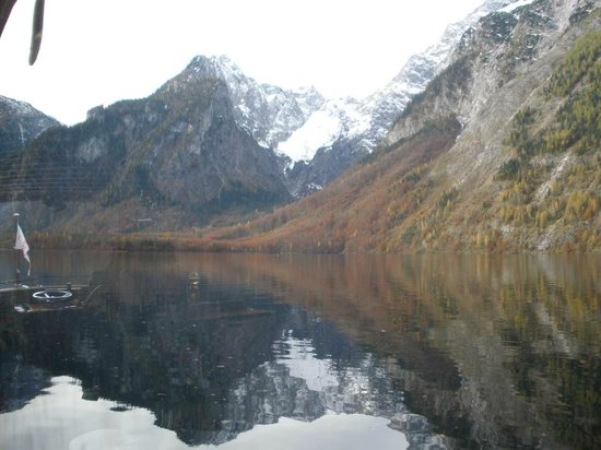 Königssee : Mirroring isn't a trick foto