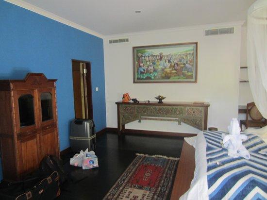 Villa Arya Ubud: zicht op de kamer