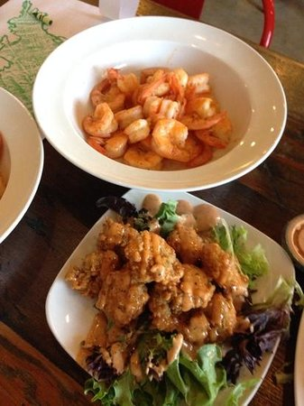 Hook and Boil : shrimp