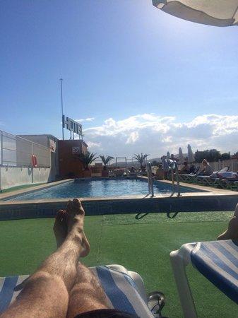 Hotel Merce: Roof terrace pool