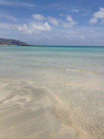 Plage d'Elafonissi : Weiß/Pinker Strand, Türkises Meer <3