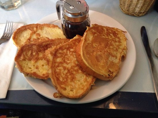 Matterson House : Very good French toast!