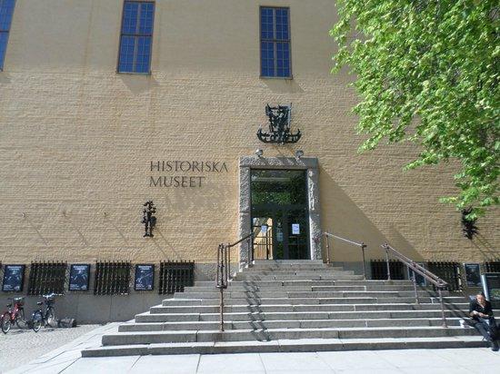 Musée de l'histoire de Suède : Entrance to the Musuem