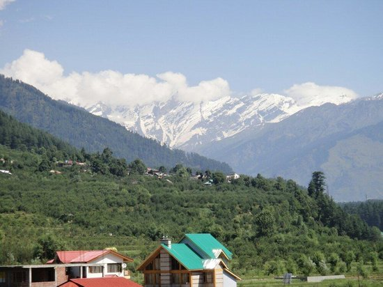 Hotel Sandhya Manali: View from Room